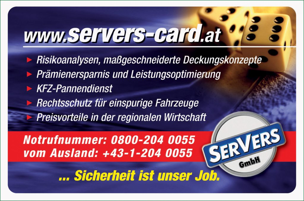 SerVers Card